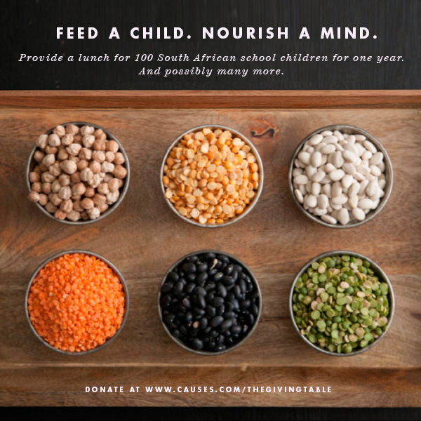 Feed a Child Nourish a Mind