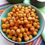 Moroccan Spiced Roasted Chickpeas