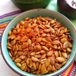 Crispy Spiced Pumpkin Seeds
