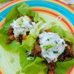 A Taste of Spring: Lamb Baharat Lettuce Cups