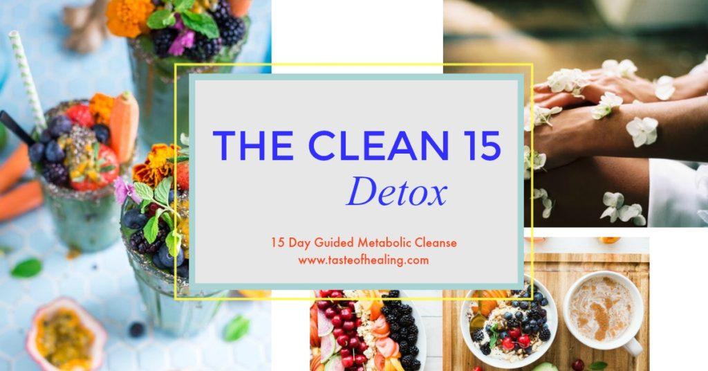 The Clean 15 Detox