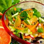 Grapefruit, Fennel & Apple Detox Salad with Bitter Greens & Citrus Vinaigrette