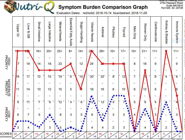 Symptom Burden Graph