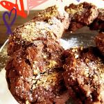 plate of The Ultimate Dark Chocolate Meringue Cookies