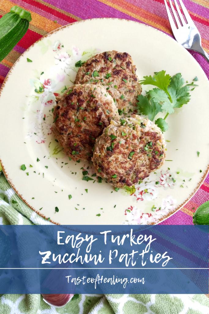 Turkey Zucchini Patties